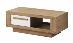 Lumi - Konferenčný stolík (dub beaufort, biely lesk)