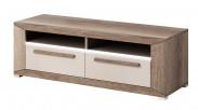 Lumi - TV stolík, 2 zásuvky