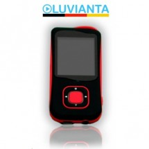 Luvianta MP3 přehrávač LUVIMP32 s pamětí - červený