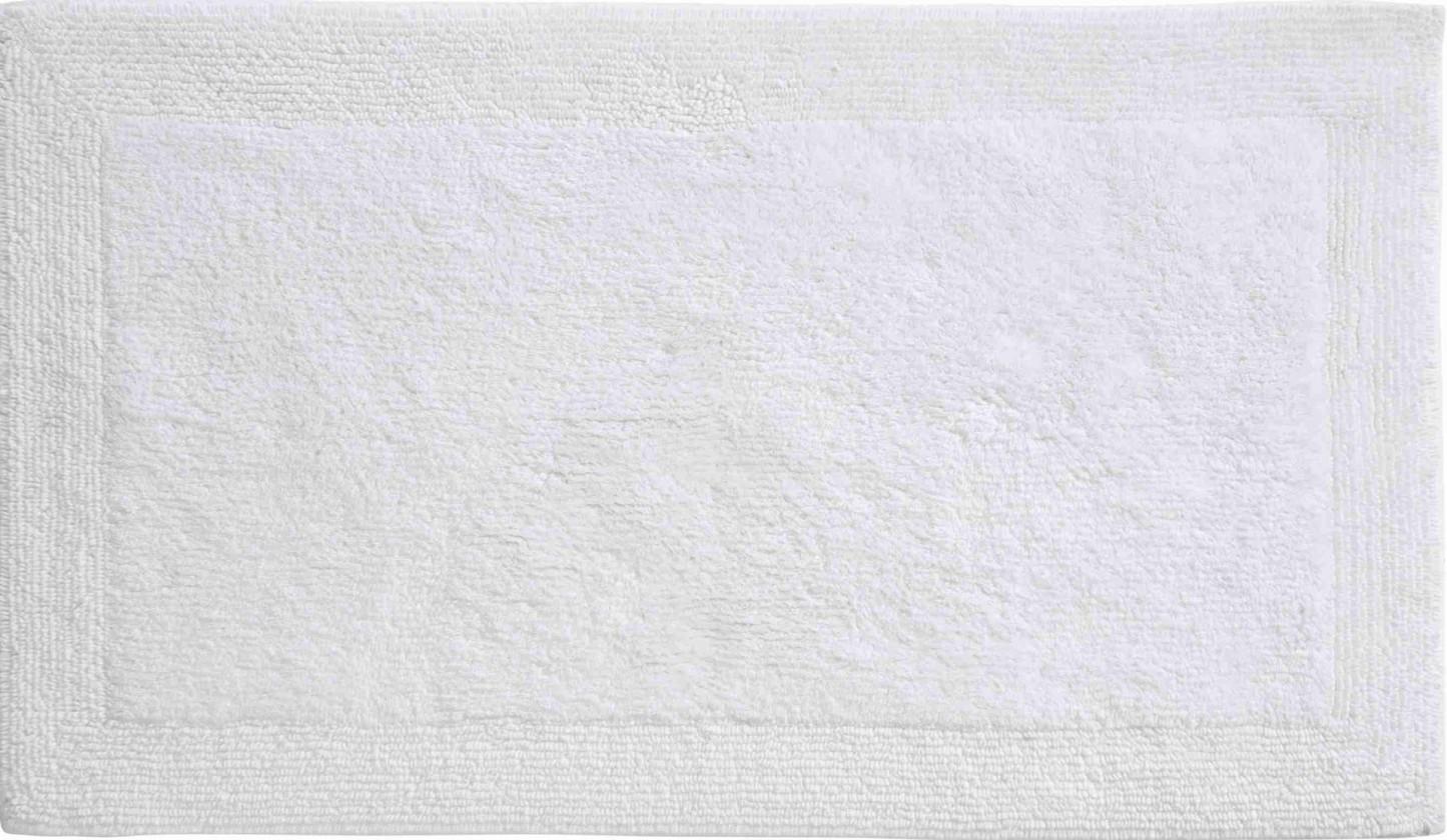 Luxor - Kúpeľňová predložka 70x120 cm (snehobiela)