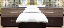 Madeira - Nočný stolík 2ks (dub/láva)