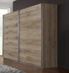 Madrid - šatníková skriňa 3, 2x posuvné dvere (dub san remo)