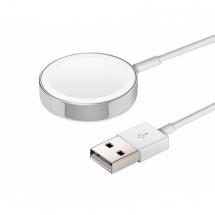 Magnetická nabíjačka na Apple watch, biela