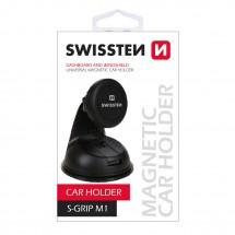 Magnetický držiak do auta Swissten M1, 3M podložka