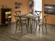 Magnum - Jedálenský stôl štvorec 60x60 cm (medená)