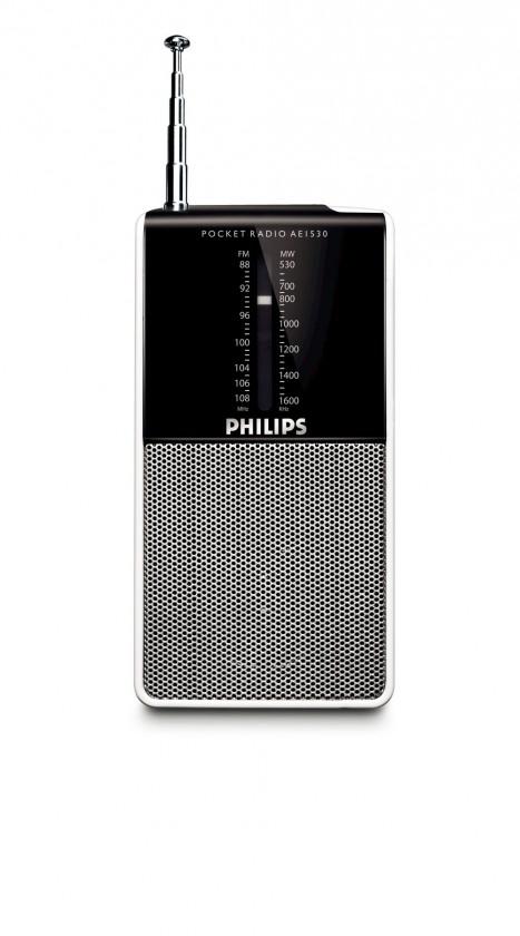 Malé rádiá Philips AE1530 POUŽITÝ, NEOPOTREBOVANÝ TOVAR