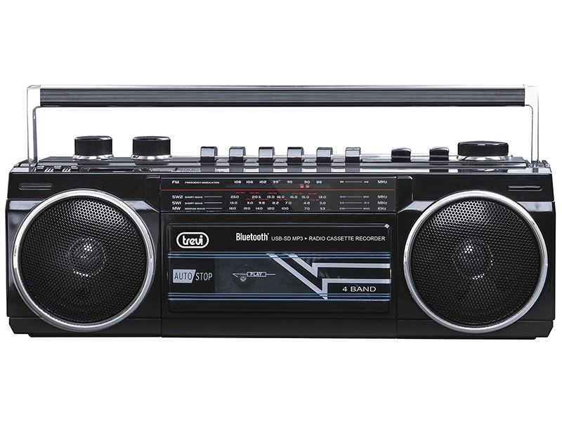 Malé rádiá Rádio Trevi RR 501 BT, čierne