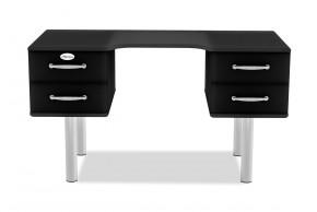 Malibu - Psací stůl (čierna)