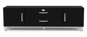 Malibu - TV stolek (čierna)