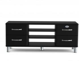 Malibu - TV stolík, 5158-033 (čierna)