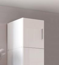 Malta-Nástavec 30x40x54 cm (alpínsky biely, biely lesk)