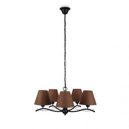 Mambo - Stropné osvetlenie E 14, 62,3cm (hnedá)