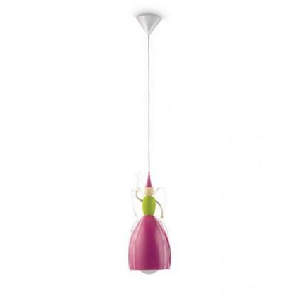 Mambo - Stropné osvetlenie E 27, 18,52cm (růžová)