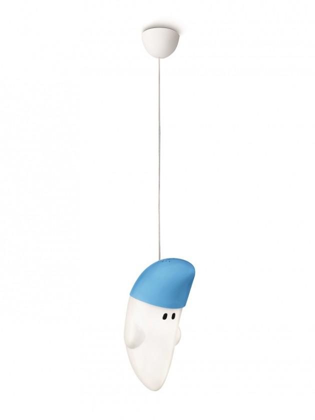 Mambo - Stropné osvetlenie E 27, 18cm (modrá)