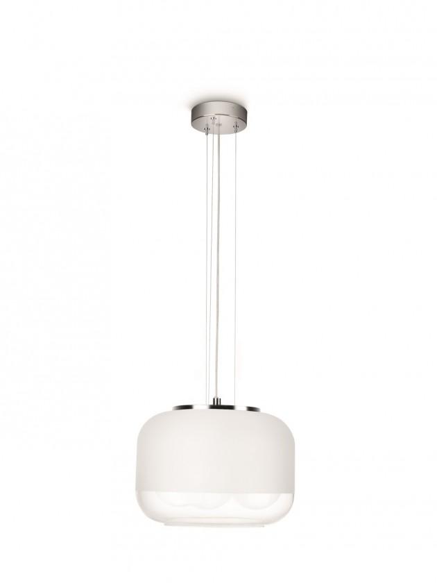 Mambo - Stropné osvetlenie E 27, 32cm (lesklý chrom)