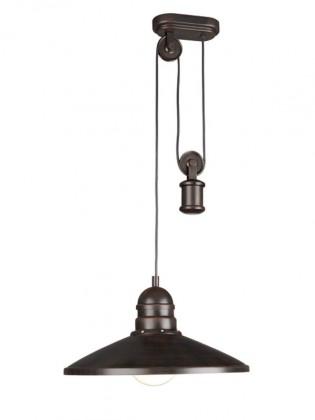 Mambo - Stropné osvetlenie E 27, 40cm (rezavá)