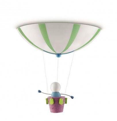 Mambo - Stropné osvetlenie E 27, 40x35,6x40 (mix barev)