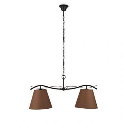 Mambo - Stropné osvetlenie E 27, 78,5cm (hnedá)