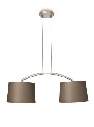 Mambo - Stropné osvetlenie E 27, 90,5cm (hnedá)