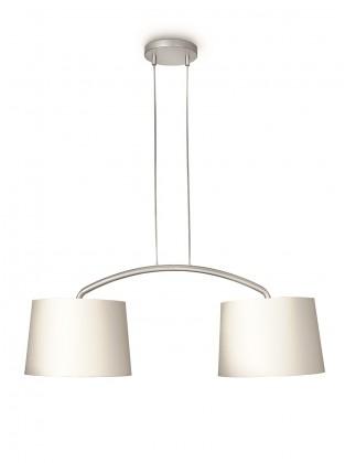 Mambo - Stropné osvetlenie E 27, 90,5cm (krémová)