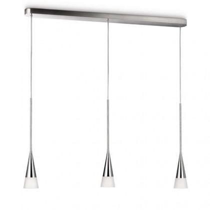 Mambo - Stropné osvetlenie E 27, 98,7cm (lesklý chrom)