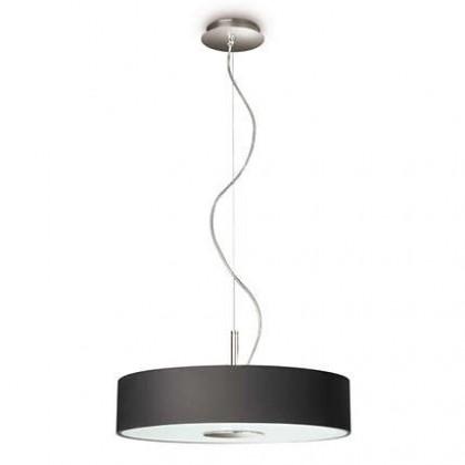 Mambo - Stropné osvetlenie E14, 45cm (čierna)