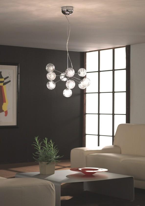 Mambo - Stropné osvetlenie G4, 54cm (lesklý chrom)
