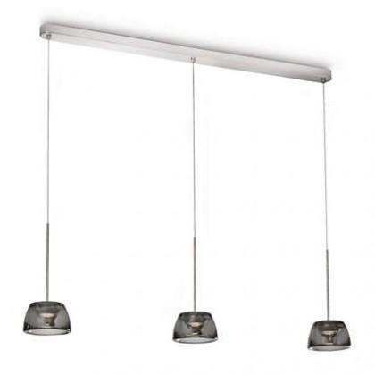 Mambo - Stropné osvetlenie LED, 107cm (lesklý chrom)