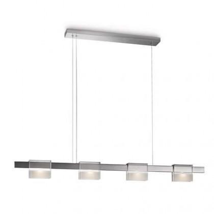 Mambo - Stropné osvetlenie LED, 128cm (lesklý chrom)