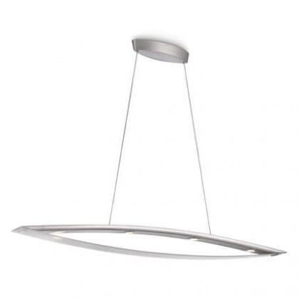 Mambo - Stropné osvetlenie LED, 130,3cm (hliník)