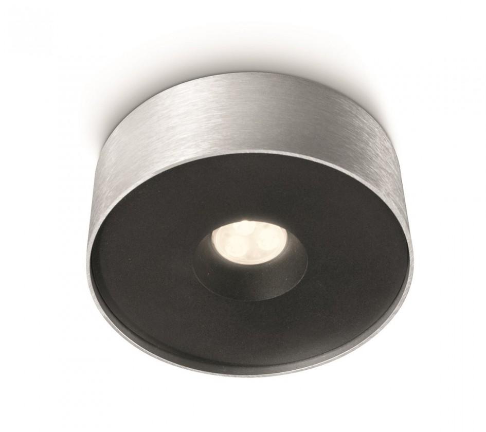 Mambo - Stropné osvetlenie LED, 15,8cm (hliník)