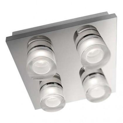 Mambo - Stropné osvetlenie LED, 18cm (lesklý chrom)