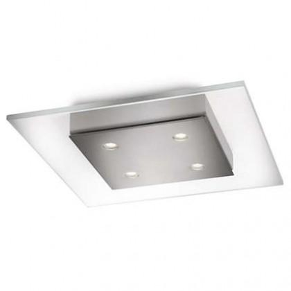 Mambo - Stropné osvetlenie LED, 30cm (matný chrom)
