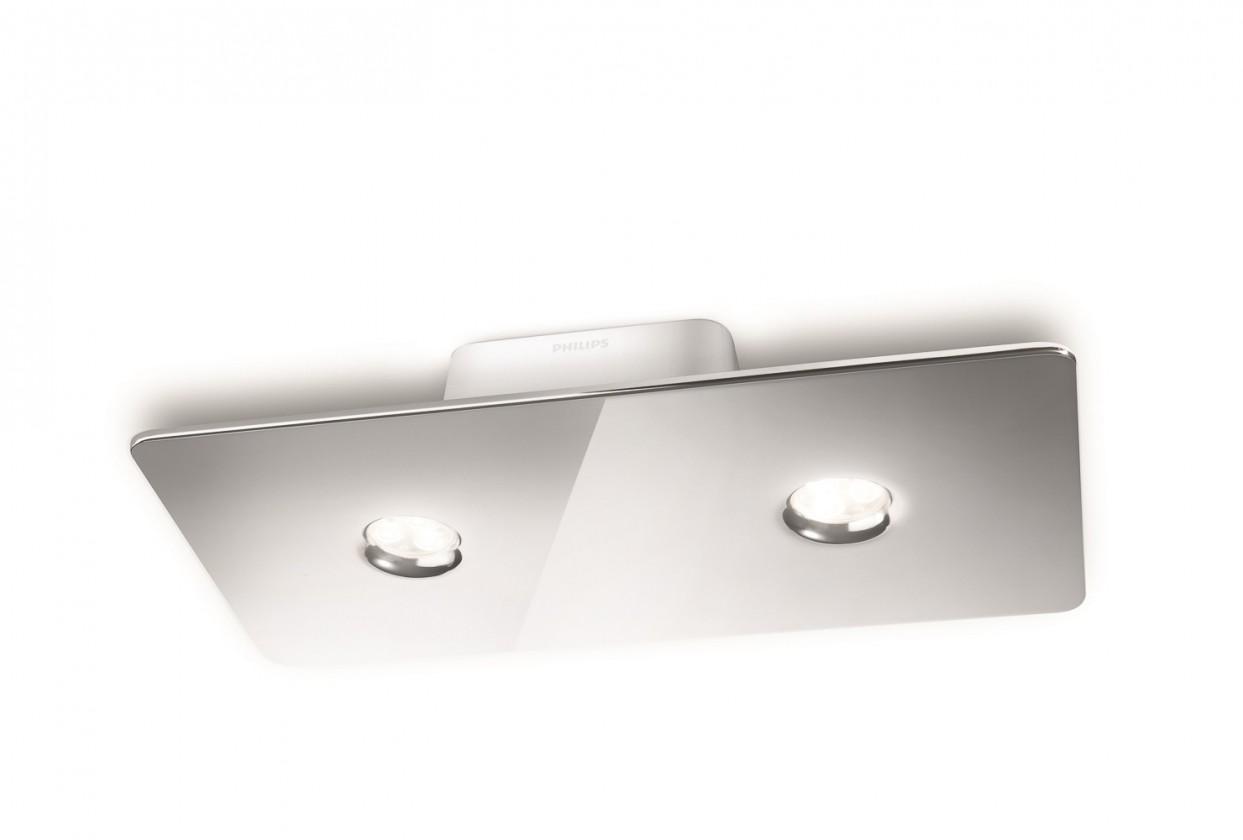 Mambo - Stropné osvetlenie LED, 33cm (lesklý chrom)