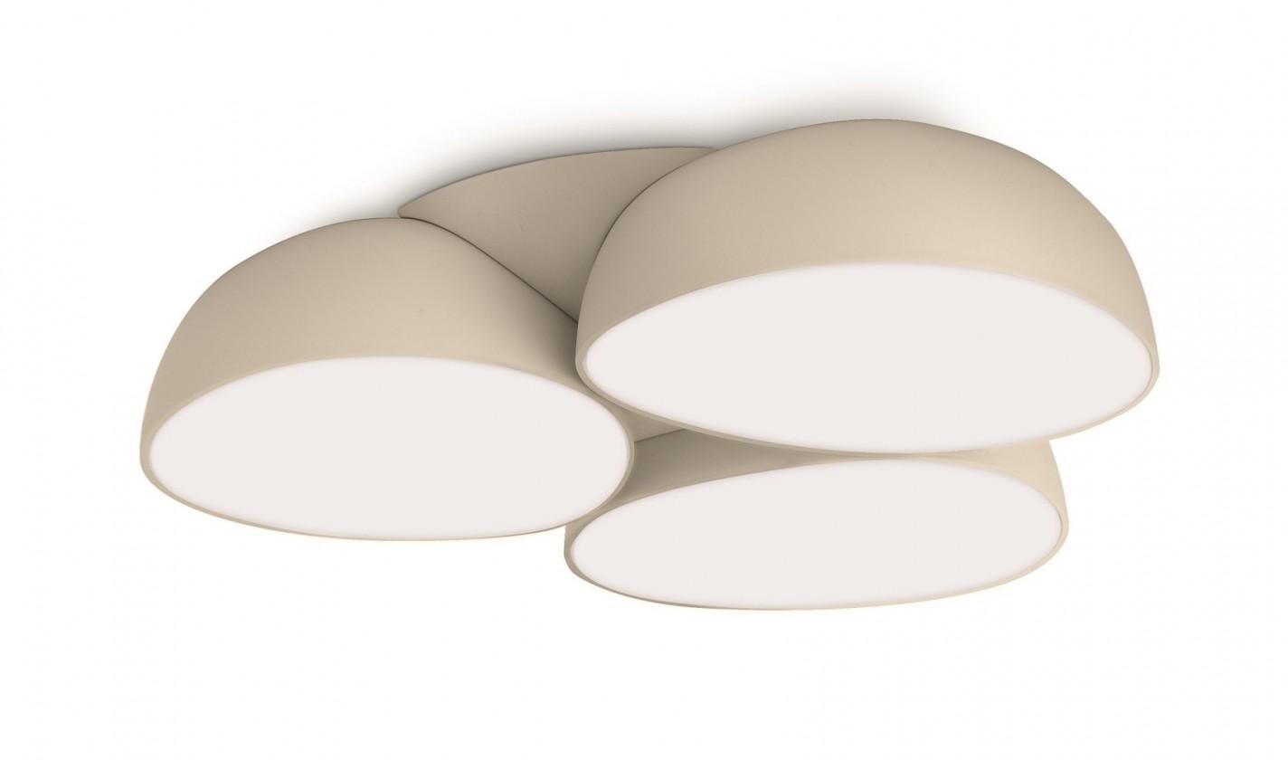 Mambo - Stropné osvetlenie LED, 34,5cm (krémová)