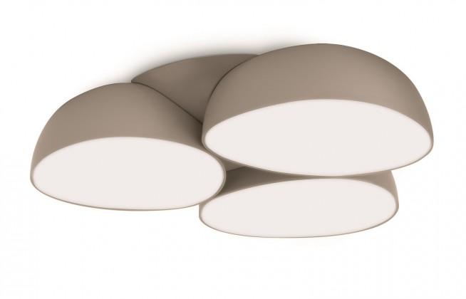 Mambo - Stropné osvetlenie LED, 34,5cm (šedá)