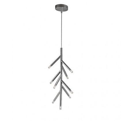 Mambo - Stropné osvetlenie LED, 34,7cm (lesklý chrom)