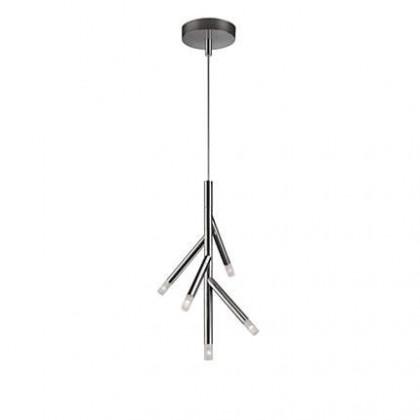 Mambo - Stropné osvetlenie LED, 34,7x250x9,5 (lesklý chrom)