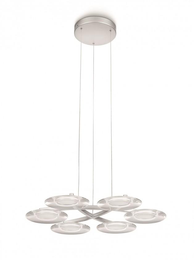Mambo - Stropné osvetlenie LED, 43cm (hliník)