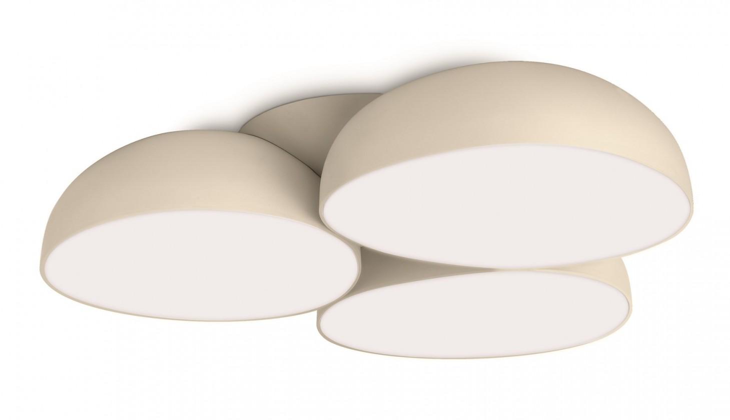 Mambo - Stropné osvetlenie LED, 44,4cm (krémová)
