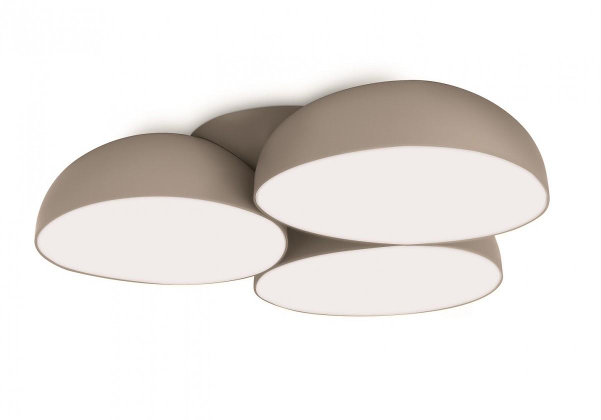 Mambo - Stropné osvetlenie LED, 44,4cm (šedá)