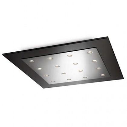 Mambo - Stropné osvetlenie LED, 46cm (lesklý chrom)