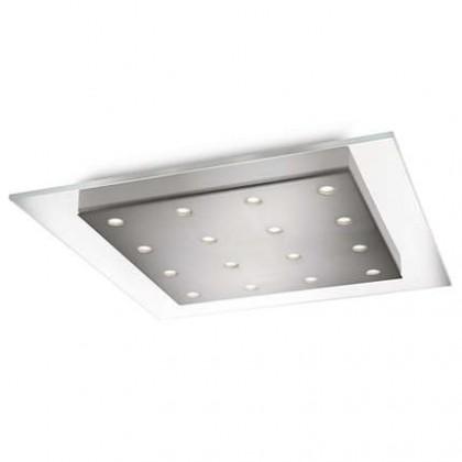 Mambo - Stropné osvetlenie LED, 46cm (matný chrom)