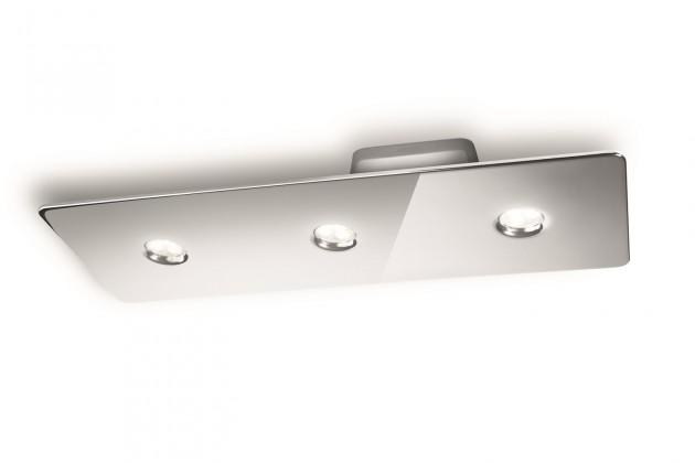 Mambo - Stropné osvetlenie LED, 49cm (lesklý chrom)