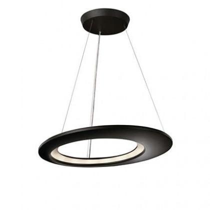 Mambo - Stropné osvetlenie LED, 65cm (antracit čierna)