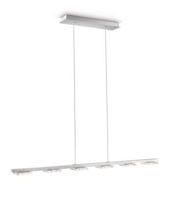 Mambo - Stropné osvetlenie LED, 85,9cm (šedá)