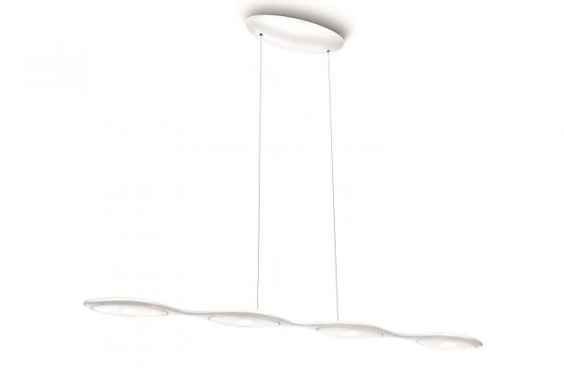 Mambo - Stropné osvetlenie LED, 90,1cm (biela)