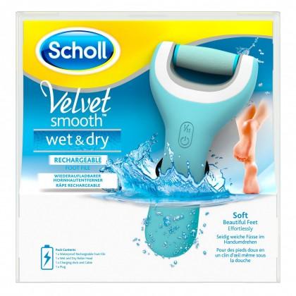 Manikúry / pedikúry Brúska na päty Scholl Velvet Smooth Wet & Dry