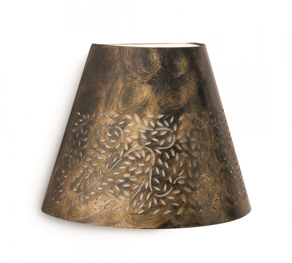 Mano - Vonkajšie osvetlenie, 25,3cm (hnedá s bronzovou patinou)