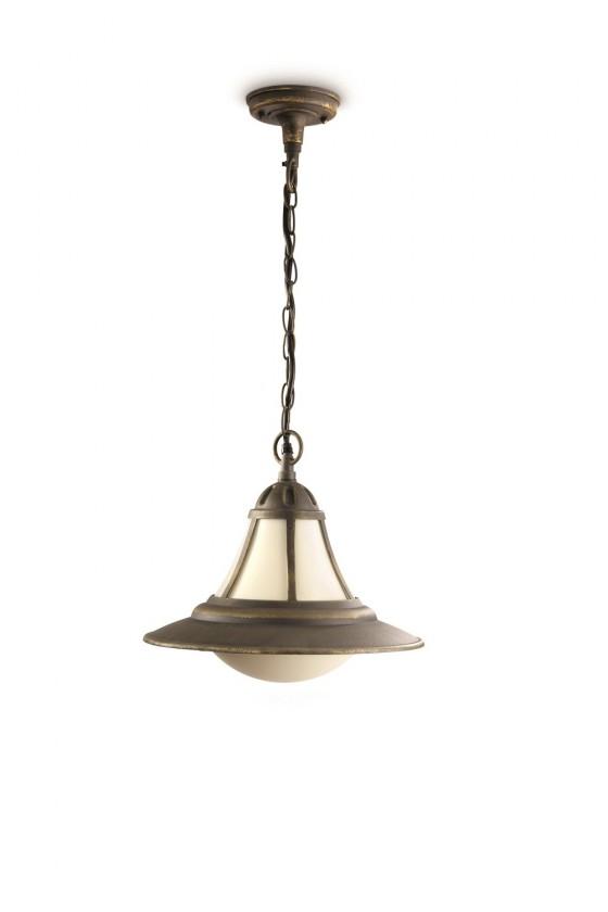 Mano - Vonkajšie osvetlenie, 32cm (hnedá s bronzovou patinou)